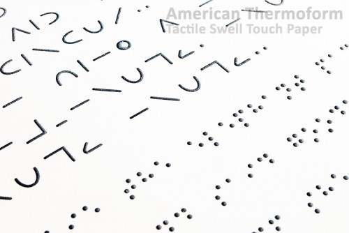 tactile graphics braille letters