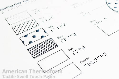 tactile graphics paper translations